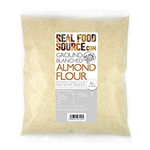RealFoodSource Blanched Ground Almond Flour (1kg): Amazon