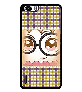 PrintDhaba Cartoon D-4101 Back Case Cover for HUAWEI HONOR 6 (Multi-Coloured)