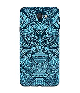 PrintVisa Designer Back Case Cover for Samsung On5 (2016) New Edition For 2017 :: Samsung Galaxy On 5 (2017) (Flower graphic art design creativity)