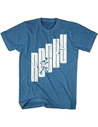Rocky - - Lettre Étape T-shirt Straight Men