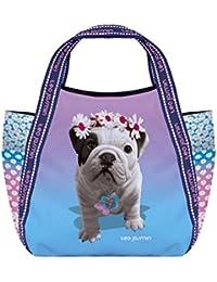 Petit sac shopping Téo Jasmin - Liberty