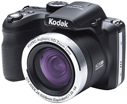 kodak astro zoom az422 bridge camera 20mp 1/2.3 ccd 5152 x 3864pixels black - digital cameras (20 mp, 5152 x 3864 pixels, ccd, 42x, hd ready, black)