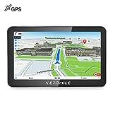 VETOMILE Win CE 6.0 Navigatore GPS per Auto da 7 pollici TFT Dispositivo di Navigazione LCD Touch Screen con Mappe Gratuite Incorporate(EU & US & AU &Sud-est asiatico)
