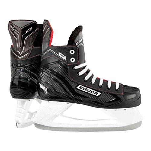 Eishockey-Schlittschuhe von Bauer, NS 7 UK schwarz / rot