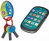 Playkidz 3027 Meine erste Handy-und Auto-Tasten Pretend Play Set