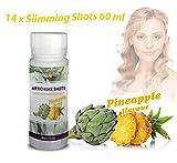 Shots mit Artischocke - Slimming Shots mit Ananasgeschmack Diät Tee Slimming