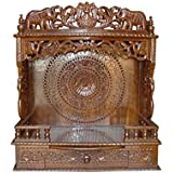 Shilpi Shessham Wooden Temple/Home Temple (Brown)