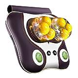 PJ Massage Nackenmassager für Lendenwirbelsäule / Wirbelsäule / Nacken / Schulter / Taille Ganzes Ganzkörper-Multifunktions-Hausmassagekissen ( Farbe : B )