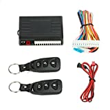 Docooler Universal Car Door Lock Trunk Release Keyless Entry System Central Locking Kit with Remote Control