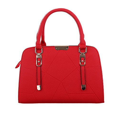 AIZHE, Borsa a mano donna Red 1