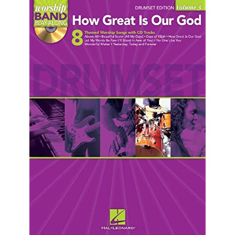 How Great Is Our God - Drums Edition - BOOK+CD
