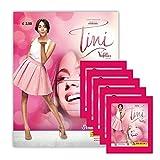 Panini - Tini Violettas Zukunft Movie Set Sammelalbum + 5 Booster Packungen Sammelsticker 25 Sticker - Deutsche Ausgabe
