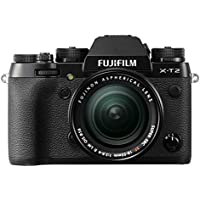Fuji X-T2 Kit with XF18-55 mm Lens - Black