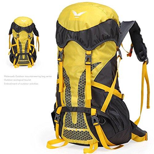 Riding sacchetto impermeabile ultraleggeri I nuovi campeggio esterna di zaino sacchetti di alpinismo professionale giallo