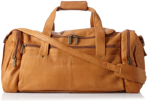 david-king-co-20-x-10-inch-duffel-tan-one-size