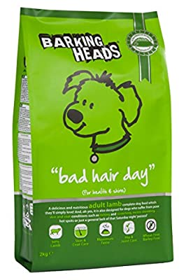 Barking Heads Dog Food Bad Hair Day Lamb