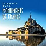Calendrier mural Monuments de France 2019