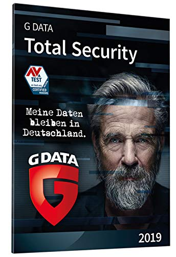 G DATA Total Security 2019 für 3 Windows-PC / 1 Jahr / Erstklassiger Rundumschutz durch Firewall & Antivirus / Trust in German Sicherheit  [Code per Post]