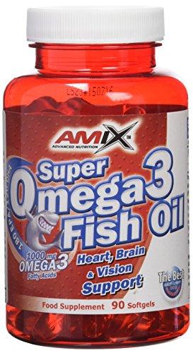 Amix Super Omega 3 Fish Oil Vitaminas & Minerales - 1000 gr_8594159533523