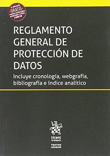 Reglamento General de Protección de Datos (Textos Legales)