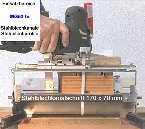 5St MG52 Sandwich Stichsägeblätter 180 mm lang für Stichsäge u Trenn-Biber 012P - 6