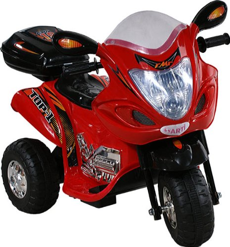 Moto eléctrica - Scooty - Scooter - Electric Ride-on ARTI 238 Buzzy Red Electric toy Motorbike