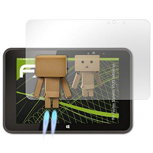 atFolix Bildschirmfolie kompatibel mit Fujitsu Stylistic V535 Industrial Spiegelfolie, Spiegeleffekt FX Schutzfolie