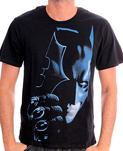 Batman Boomerang - Camiseta para hombre, color schwarz/schwarz, talla S