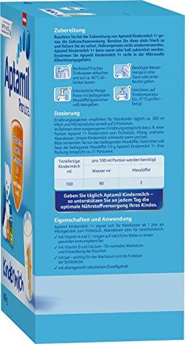 Aptamil Kindermilch 1+ ab 1 Jahr, 4er Pack (4 x 600 g) - 2
