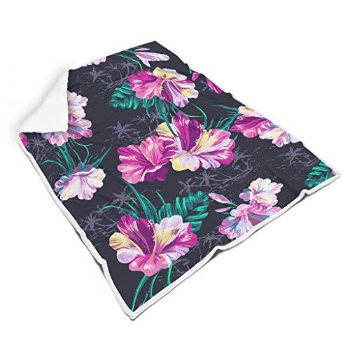 Zhenxinganghu leicht Verschiedene Muster Fleece Decke für Schlafzimmer Sorgfältige Verarbeitung für Kinder Eleganter Stil White 150x200cm