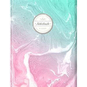 Blanko Notizbuch (©Star, A4, 156 Seiten, Softcover)    Mit Register + Seitenzahlen    Leeres Notizbuch zum Selbstgestalten, Zeichenbuch, Skizzenbuch, Blankobuch, Malbuch
