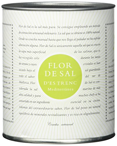 Gusto Mundial Flor de Sal Mediterranea, Bio – 1er Pack (1 x 150 g)