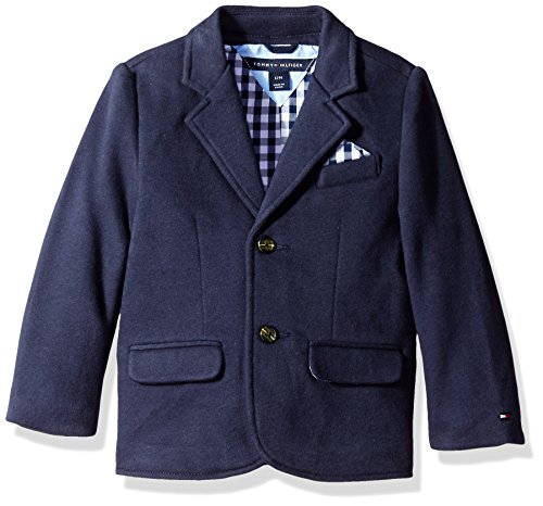 TOMMY HILFIGER BABY BOYS COTTON JERSEY SMART BLAZER JACKET 18 MTHS