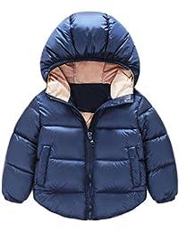 Ularma Abrigos de niños, Manga larga abrigos chaquetas invierno Buki