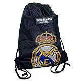 Real Madrid Fanartikel Gymbag Sportbeutel Tasche schwarz