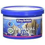 King British Tropical Fish Flake 55g 18