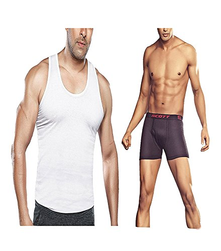 Dixcy Scott 1-Pc Vest 1-Pc Cross Trunk Combo Offer (Size :95 CM)  available at amazon for Rs.210