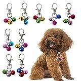 FURU Pet Dog Cat Bell Dekoration für Halsband lautesten Bell Sicherheit, Farbe Zufällige