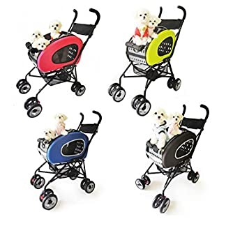 Pet Stroller,IPS-020/Blue, dog carrier, trolley, Trailer, Innopet, 5-in-1 Pet Buggy.Foldable pet buggy, pushchair, pram… 21