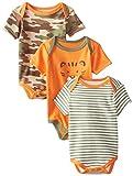 Best Beginnings Baby-Boys Newborn Tiger Bodysuits, Orange, 9 Months