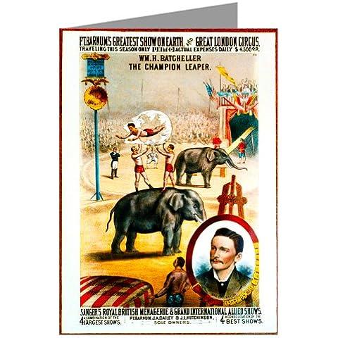 einze lgru § scheda di circo Poster
