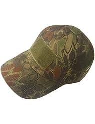 De plein air Réglable Baseball Velcro de Protection Casquette Camo Devoir Chapeau (5 Couleurs) pour Militaire Armée Tactique Des Sports Opérateur Chasse Camping Tournage