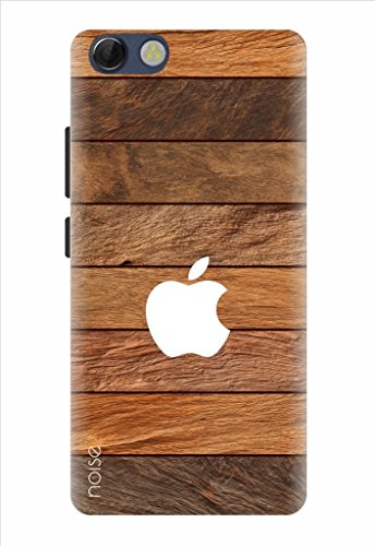 Noise Designer Printed Case / Cover for Panasonic P55 Novo / Patterns & Ethnic / Wooden texture Apple