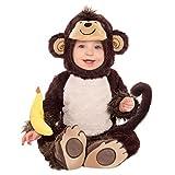 Baby Kostüm Affe, 6-12 Monate, für Kinder, Dschungel-Party, Weihnachten, Geschenk-Idee