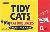 Tidy Cats Cat Box Liners for Multiple Cats - 12 Liners by Purina