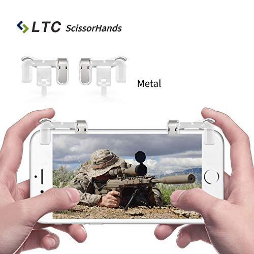 LTC-ScissorHands-Trigger-M2-pour-Mobile-Game-Boutons-Mtalliques-Sensible-Shoot-et-But-comme-L1R1-de-Joysticks-Jeu-Portable-pour-PUBG-Fit-pour-Android-ou-IOS-Smartphone-Transparent