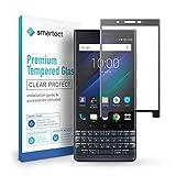 smartect Panzerglas für BlackBerry Key 2 [Full Screen] - Bildschirmschutz mit 9H Härte - Panzerglas bedeckt ganzes Bildschirm komplett Full Cover