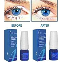 5 x Innoxa Gouttes Bleues French eye drops 5 x 10 ml (0.35 fl.oz) by Innoxa - preisvergleich