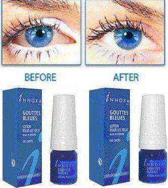 5 x Innoxa Gouttes Bleues French eye drops 5 x 10 ml (0.35 fl.oz) by Innoxa preisvergleich