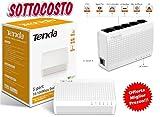 Mini Hub Netzwerk Switch Tenda S10510/100Mbps 5Ports Ethernet Lan Network Mac